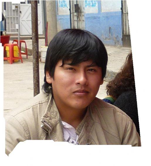 Danny, Chico de Lima buscando conocer gente