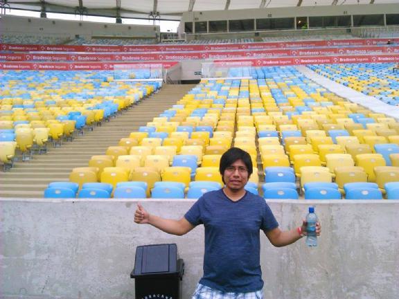 Daniel, Chico de Rio de Janeiro buscando conocer gente