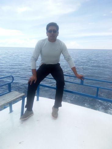 Marcelo pobletty, Hombre de Oruro buscando conocer gente