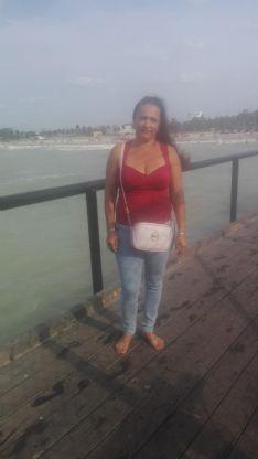 Tarcila, Mujer de Maicao buscando conocer gente