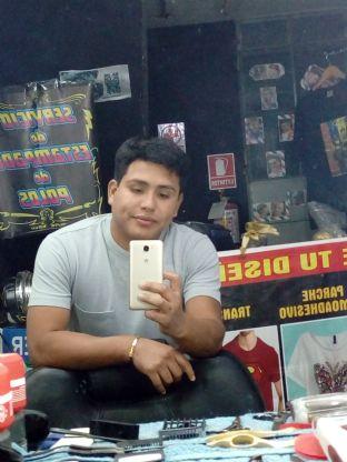 Jordy, Chico de Lima buscando conocer gente