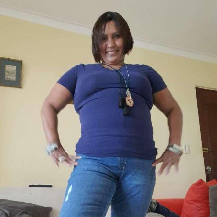Claribel hidalgo, Mujer de Santo Domingo buscando conocer gente